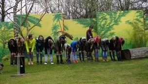 Zukunftstag 2019 im Erlebnis-Zoo Hannover mit 200 jungen Besuchern