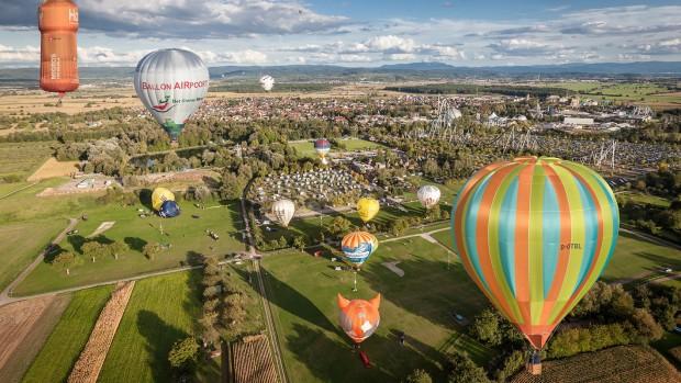 Europa-Park Ballonfestival April 2019