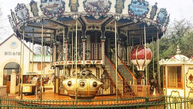 Festyland 2019 Neuheit Jules Verne Karussell