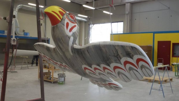 FORT FUN Abenteuerland Thunderbirds neu 2019 Gondel-Design