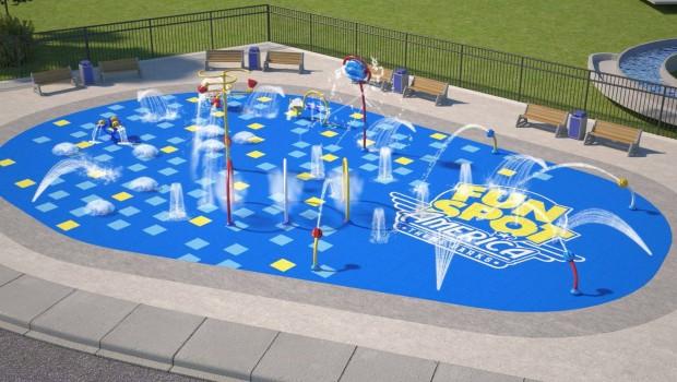 Fun Spot America orlando 2019 Wasserspielplatz