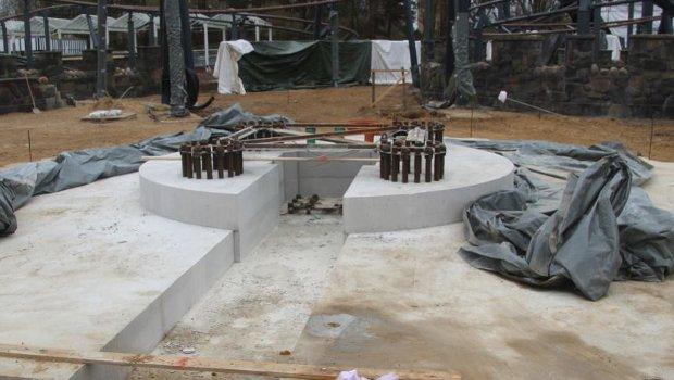 Hansa-Park Highlander Baustelle März 2019