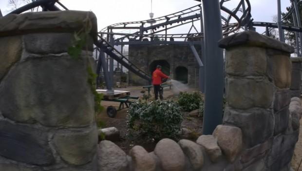 Hansa-Park Umgestaltung Nessie 2019 Arbeiten