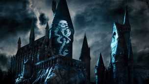 Harry-Potter-Projektionsshow Dark Arts in Universal-Parks