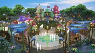 Chinas erster Schlümpfe-Themenpark zur Eröffnung 2019 in Shanghai geplant