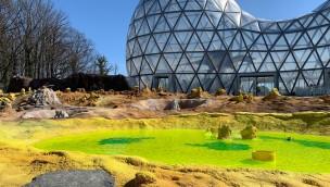 Lavaris Saurierpark Blick Mitoseum