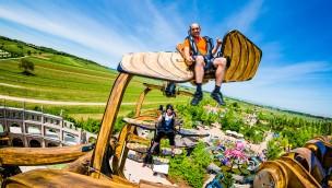 Leonardos Flugmaschine Familypark Sky Fly