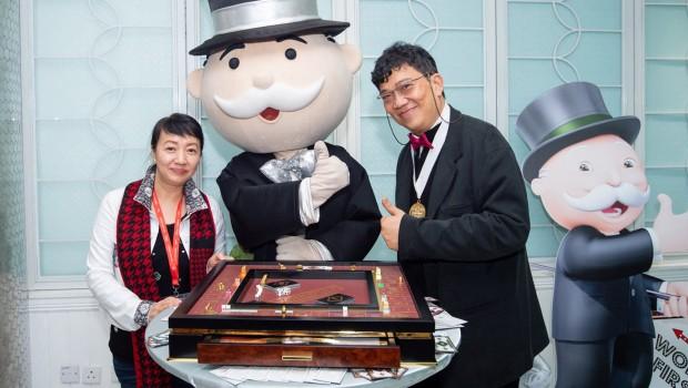 Monopoly Dreams Pressekonferenz in Hongkong