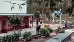 Movie Park Germany 2019 neu mit PAW Patrol-Themenwelt: Spielplatz auf Baustelle aufgebaut