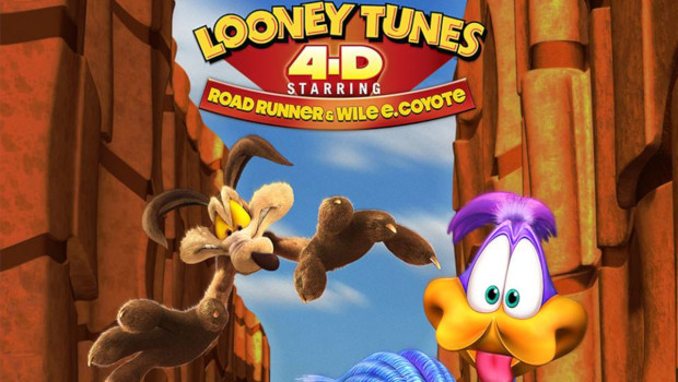 Movie Park Looney Tunes 4D Starring Road Runner and Wile E Coyote