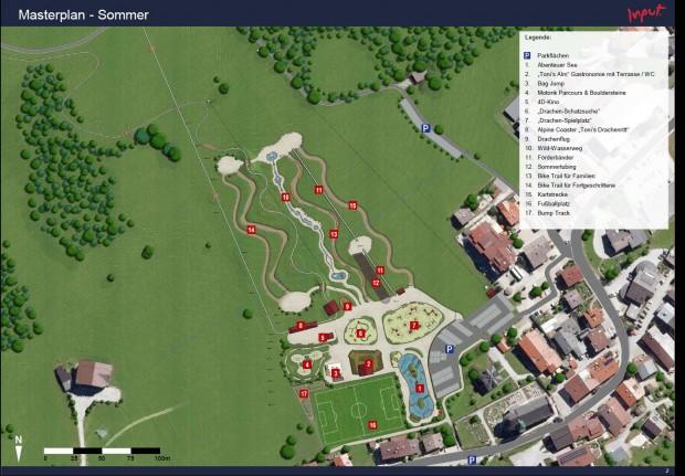 Freizeitpark Wildschönau Sommer-Grundrissplan