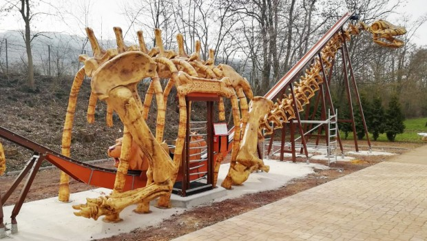 potts park Säbelsaurus Aufbau
