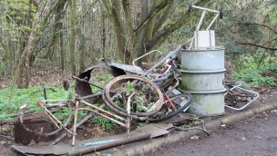 Rostocker Zooverein veranstaltet Frühjahrsputz 2019 im Barnstorfer Wald
