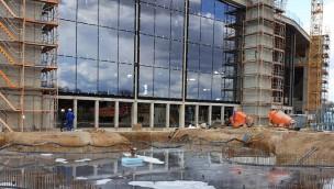 """Rulantica-Baustelle im Blick: Außenanlage """"Frigg Temple"""" des neuen Wasserparks entsteht"""