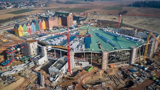 Rulantica Baustelle März 2019
