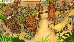 """Safariland Stukenbrock enthüllt neues Artwork für neuen Indoor-Spielpark """"Kattas Welt"""""""