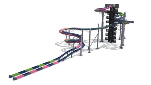 Schlitterbahn Waterpark Infinity Racers