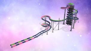 "Schlitterbahn Wasserpark Galveston präsentiert im Juni 2019 neue Attraktion ""Infinity Racers"""