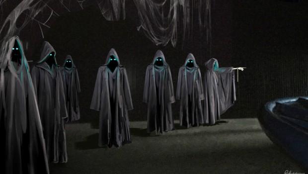 Toverland Fenix Dark-Ride Szene Anhänger Morgana