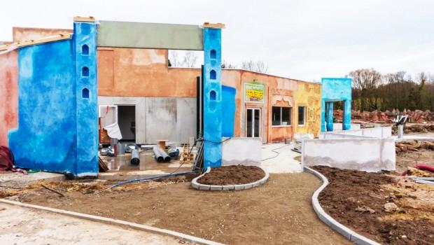 Walibi Belgium Karma World Baustelle 2019 im März