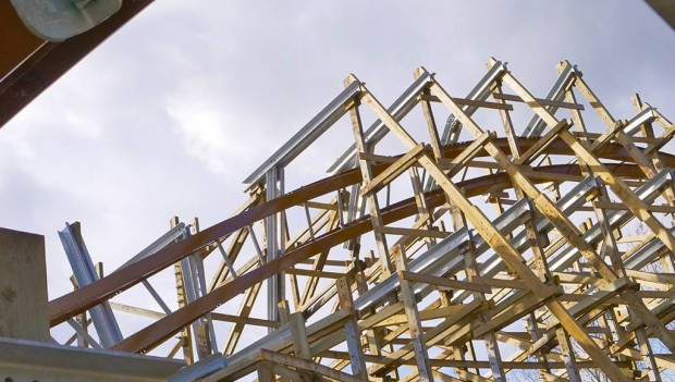 Walibi Holland Untamed Baustelle