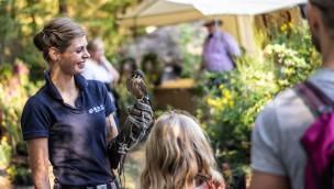 Wildpark Müden Ende März 2019 mit Pflanzen- und Kunsthandwerkermarkt