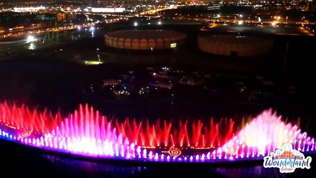 Wonderland Eurasia Wasserfontänen Show