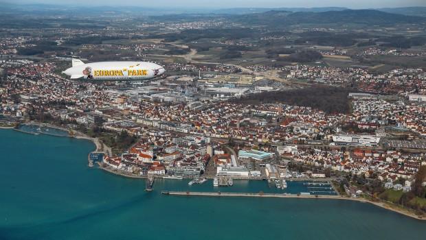 Zeppelinflug Bodensee EUropa-Park Luftschiff
