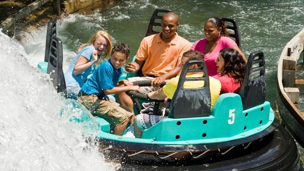 Carowinds Wasserbahn Rip roarin' rapids geschlossen