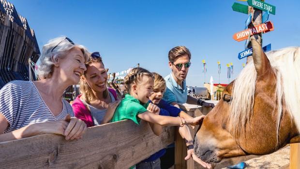 Cavalluna Park Pferdepark München - Begegnungen