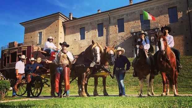 Cowboyland Park Voghera Lombardei