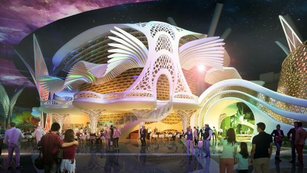 Doha Oasis Flying Theater