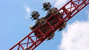 """""""Dynamite"""" im Freizeitpark Plohn macht Testfahrten: Achterbahn-Neuheit in Aktion!"""