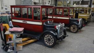 Efteling stellt neue Fahrzeuge für renovierte Oldtimer-Bahn vor: Eröffnung noch im April 2019 geplant