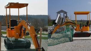Erlebnispark Voglsam bringt für 2019 neuen Spielbagger und neue Go-Kart-Fahrzeuge