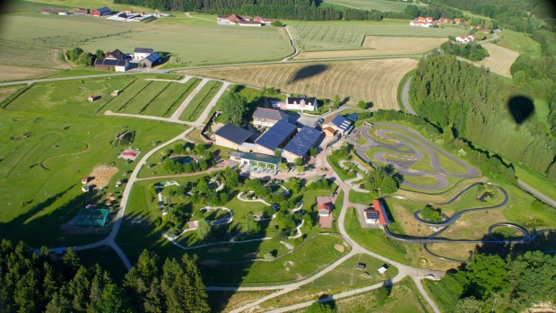 Erlebnispark Voglsam Ballonfahrt