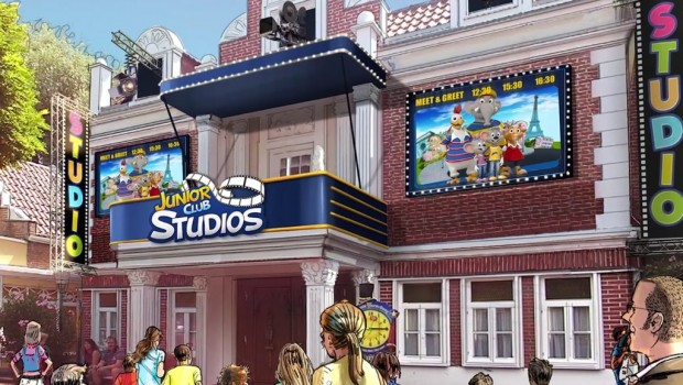 Europa-Park Junior Club Studios Artwork