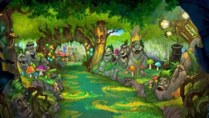 Europa-Park Snorri Touren Artwork