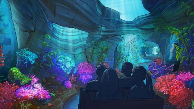 Snorri Touren EUropa-Park Unterwasser Artwork