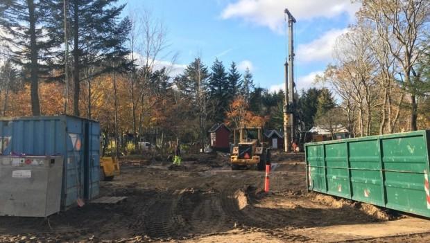 Farup Sommerland Saven baustellenbild Herbst 2019 1