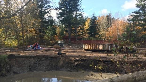 Farup Sommerland Saven baustellenbild Herbst 2019 4