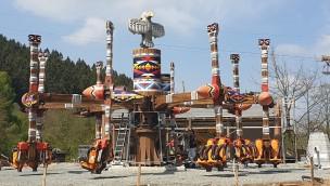 FORT FUN Abenteuerland Thunderbirds Aufbau 2019