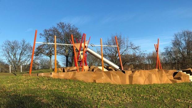 Freizeitpark Heerdt neugestaltete Spielfläche