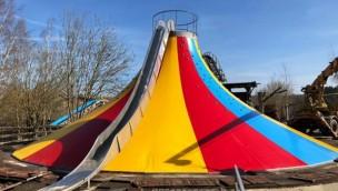 Freizeitpark Plohn Überarbeitung Kletterberg 2019