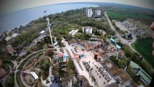 """""""Highlander"""" im OnRide-Video: Neuer 120 Meter-Freifallturm im Hansa-Park aus der Mitfahr-Perspektive"""