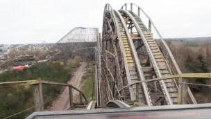 """Heide Park zeigt Testfahrten von """"Colossos – Kampf der Giganten"""" aus der Mitfahr-Perspektive"""