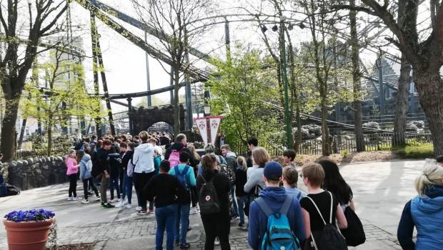 Highlander Hansa-Park Eröffnung Besucher