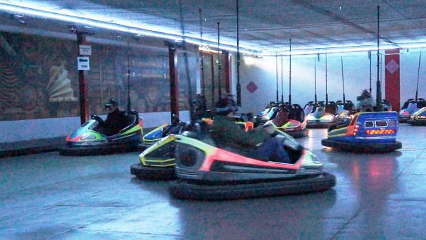 Holodeck VR Bumper Cars Erlebnispark Schloss Thurn