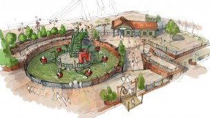Karls Erlebnis-Dorf Elstal Sauseland neu 2019