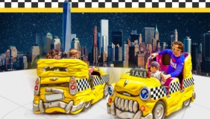 Kingoland Crazy Taxis Artwork